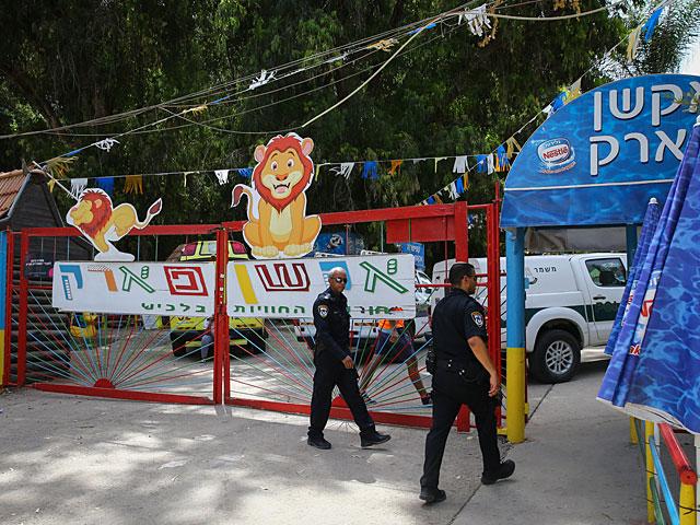 Закрыт парк развлечений возле Лахиша, в котором погиб ребенок