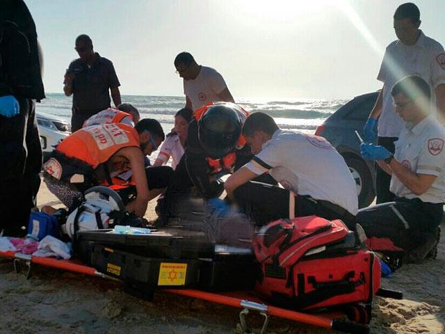 К югу от Кейсарии в море утонул мужчина