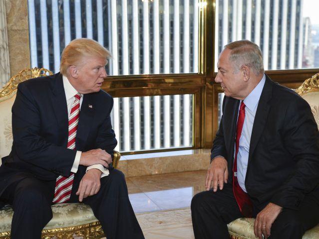"Трамп поздравил Нетаниягу с ""победой"" над Бен Гурионом"