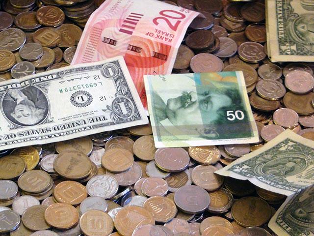 Шекель рекордно подорожал по отношению к корзине валют