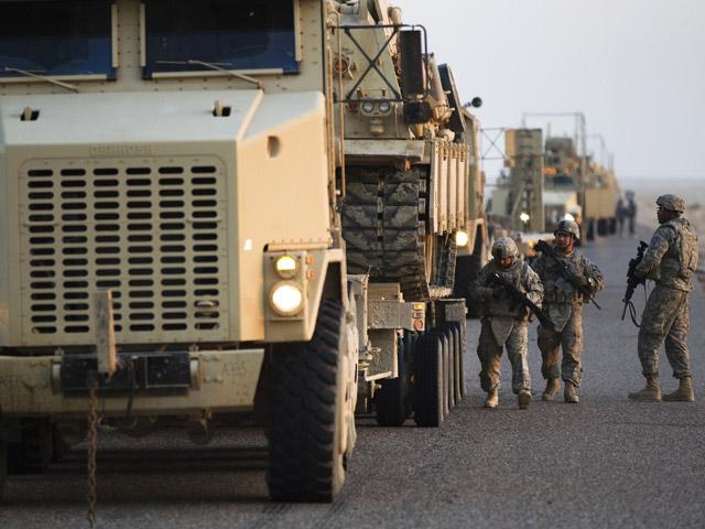 В Ираке погиб американский военнослужащий