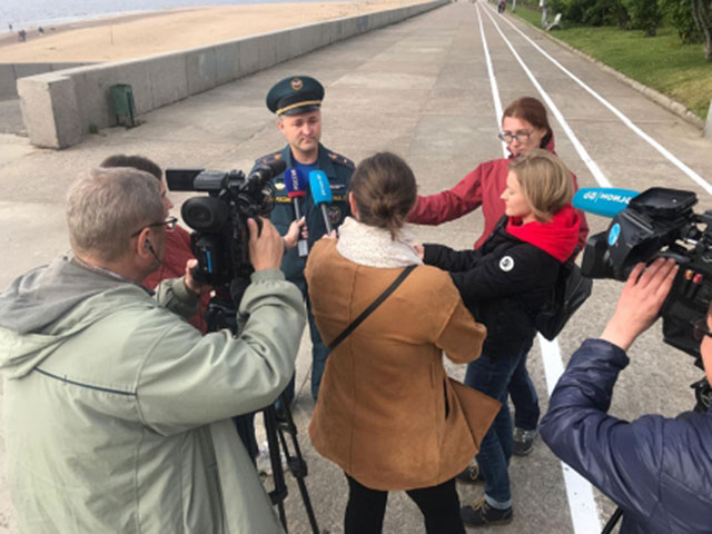 В зоне взрыва на военном полигоне под Архангельском зафиксирован экстремально высокий уровень радиации