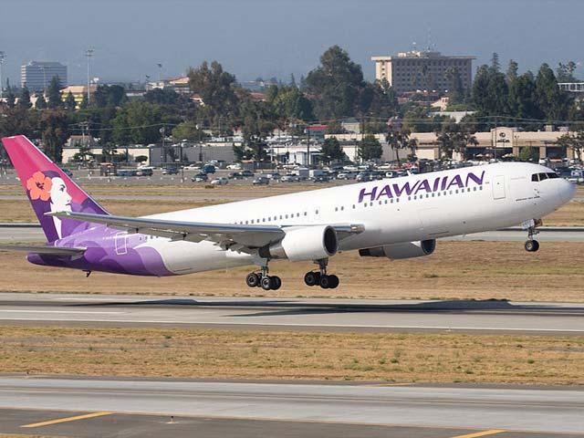 Самолет Hawaiian Airlines совершил аварийную посадку, есть пострадавшие