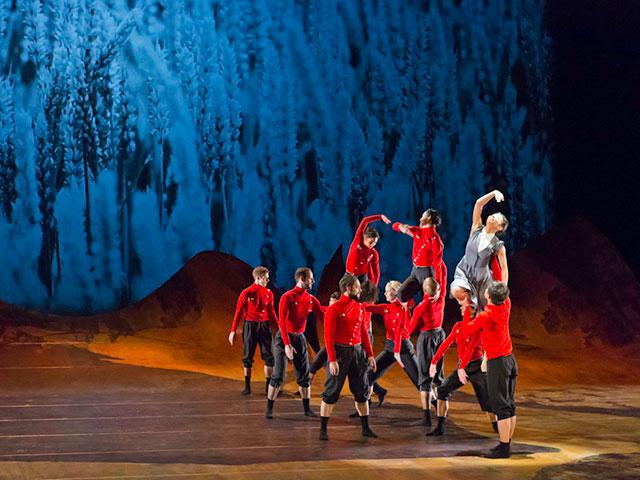 """Классика литературы и классика балета: """"Тевье"""" в исполнении Театра балета из Базеля"""