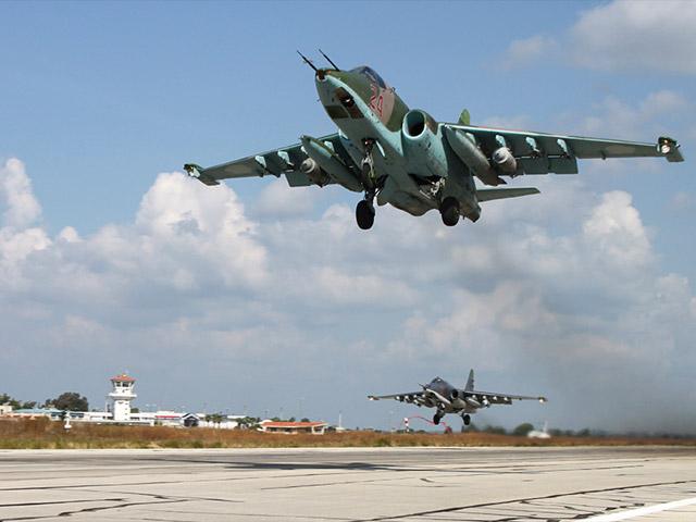 На аэродроме Хмеймим в Сирии