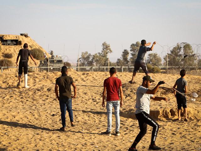 """На границе Газы прошел самый малочисленный за последние месяцы """"марш"""""""