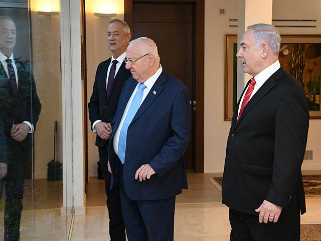 """Блок """"Кахоль-Лаван"""" пригласил """"Ликуд"""" на коалиционные переговоры"""