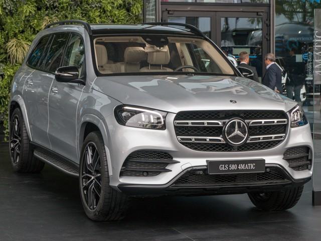 Mercedes-Benz GLS-Class нового поколения
