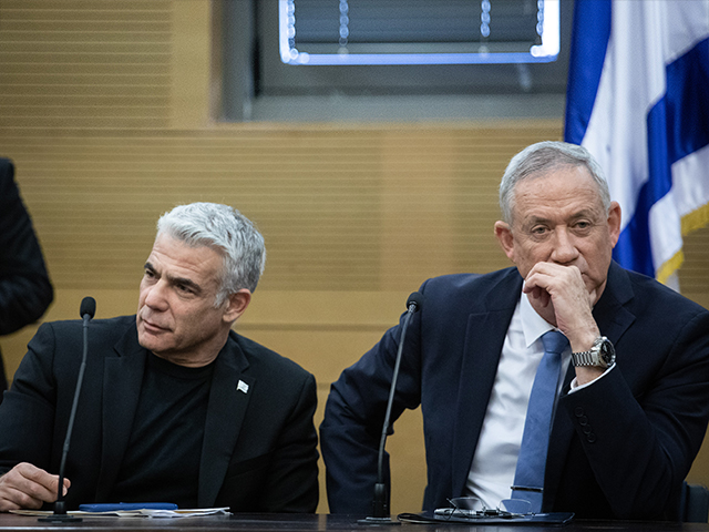 Яир Лапид и Бени Ганц