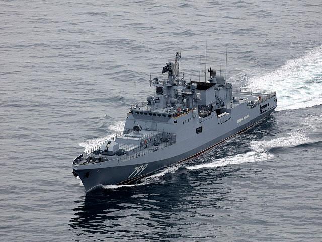 В восточной части Средиземного моря начались совместные учения ВМС России и Сирии