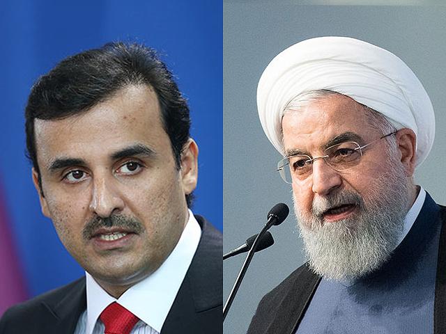 Эмир Катара шейх Тамим бин Хамад аль-Тани прибыл в Тегеран на переговоры с президентом Ирана Хасаном Роухани