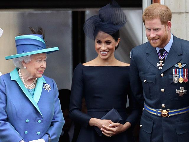 """Megxit: королева  надеется, что Гарри и Меган  ограничатся """"переходным периодом"""""""