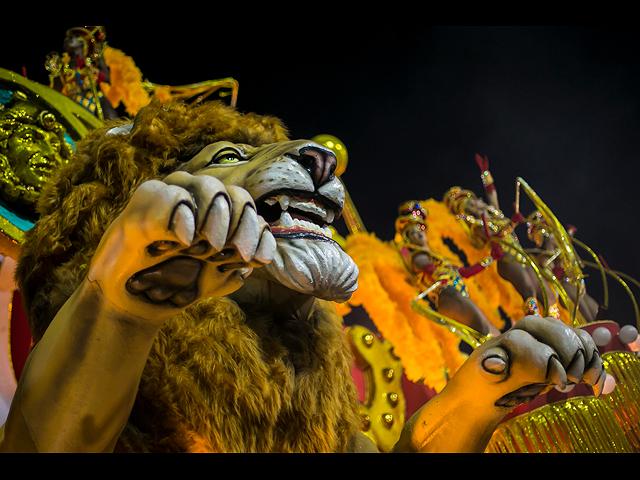 Кошки, байкеры и спартанцы: в Рио продолжается карнавал. Фоторепортаж