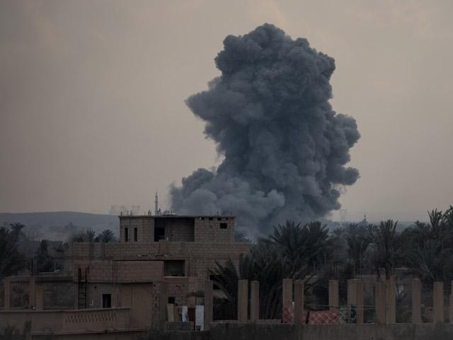 """ВВС США и Великобритании атаковали объекты группировки """"Катаиб Хизбалла"""" в Ираке (иллюстрация)"""