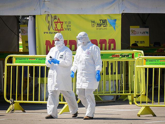 Новые данные минздрава Израиля: более 2000 заразившихся коронавирусом, пятеро умерли