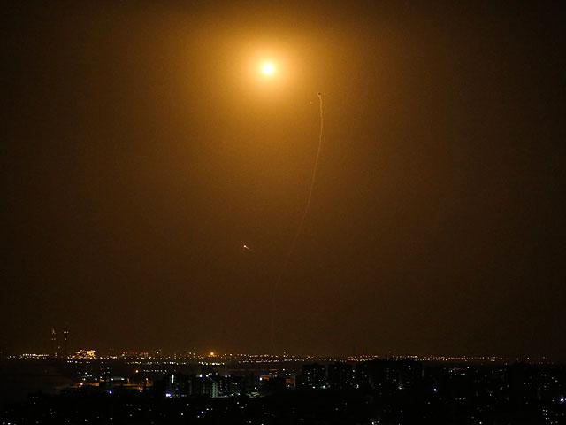 Израильская территория подверглась ракетному обстрелу из сектора Газы