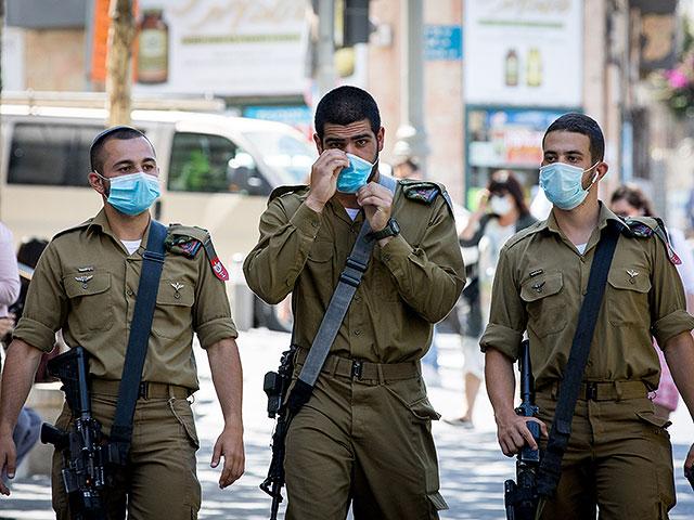 Данные эпидемии в ЦАХАЛе: более 350 заразившихся, 10 тысяч на карантине