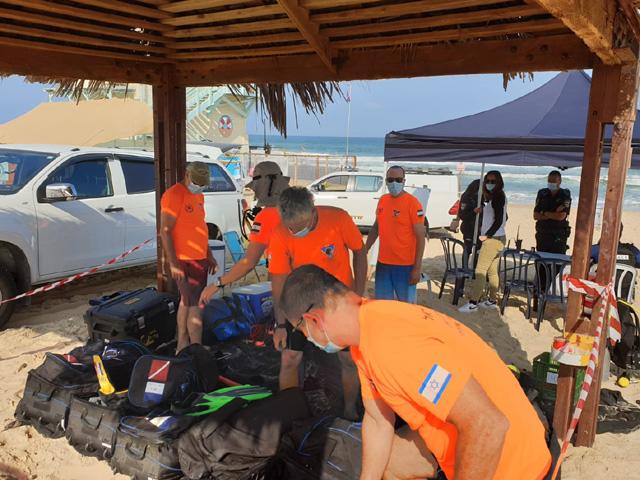 У берегов Ашдода продолжаются поиски пропавшего накануне мужчины