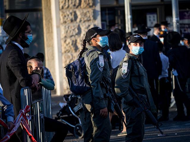 """В квартале Ромема в Иерусалиме возобновились """"карантинные беспорядки"""""""
