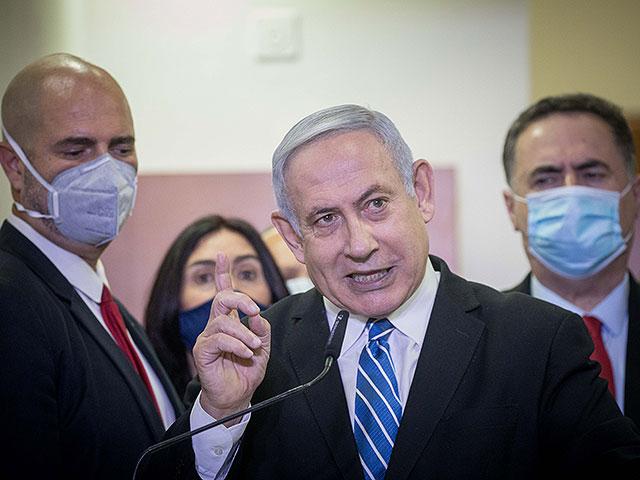 """Опрос """"Исраэль а-Йом"""": у """"Ликуда"""" 33 мандата, у Нетаниягу 33% популярности"""