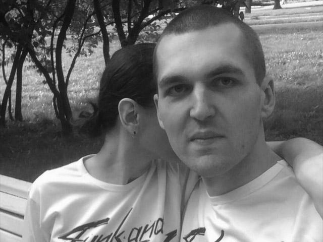 Энди Картрайт (Александр Юшко) с женой