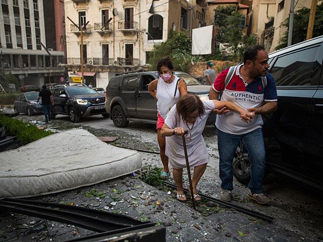 NEWSru.co.il :: ename :: Взрыв в порту Бейрута: множество погибших ...