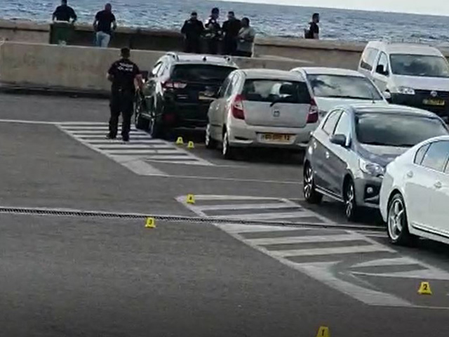 Стрельба в порту Яффо; убит мужчина. ВИДЕО
