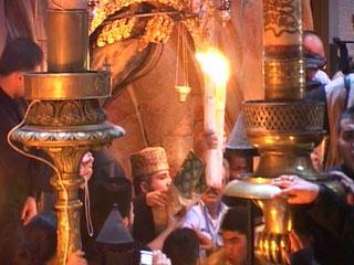 NEWSru.co.il :: Фото :: На церемонии схождения Благодатного …