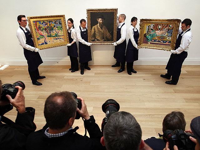 NEWSru.co.il :: Фото :: Самые дорогие лоты аукциона Sotheby's. Лондон, июнь 2010 года