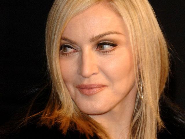 """Мадонна вечеринке """"Оскар"""", устроенной журналом Vanity Fair. 27 февраля 2011 года"""