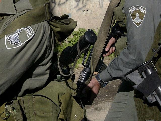 Бойцы израильской пограничной службы
