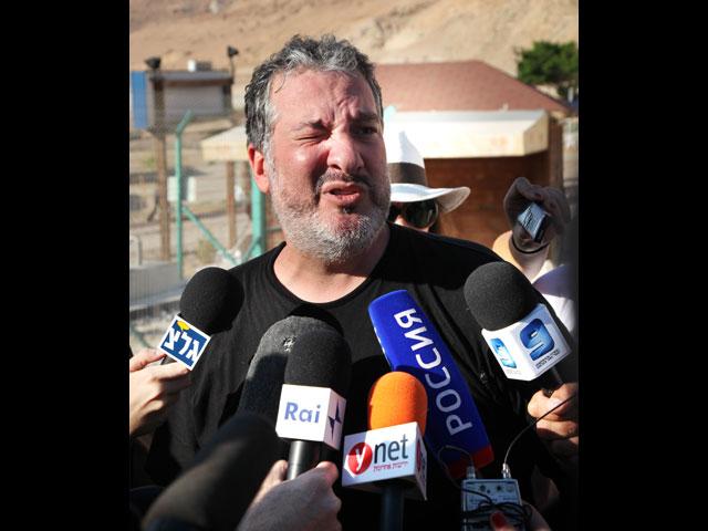 Спенсер Туник на Мертвом море. 17 сентября 2011 года
