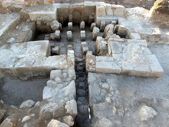 В центре Израиля обнаружена баня, которой более полутора тысяч лет
