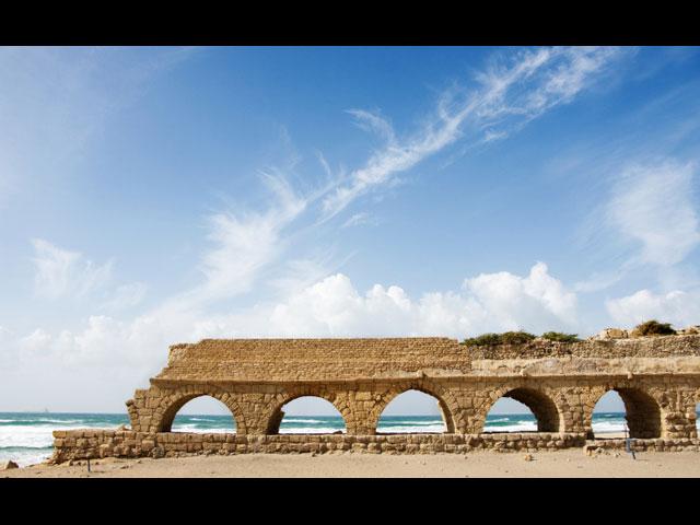 Руины древней Кейсарии
