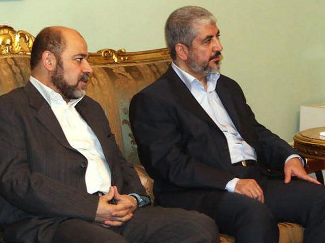 Муса Абу Марзук и Халид Машаль