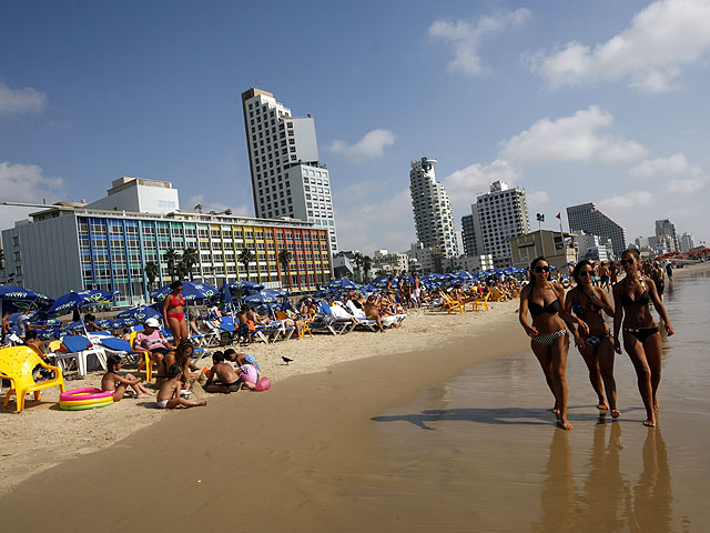 23 апреля в Израиле официально открылся купальный сезон