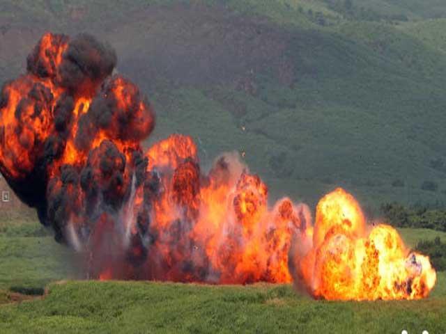 В Оренбургской области горят склады со снарядами. Есть пострадавшие