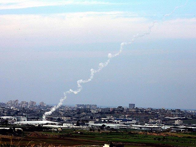 Палестинские террористы снова обстреляли территорию Израиля