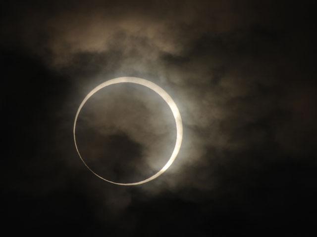 Солнечное затмение в Японии. 21 мая 2012 года