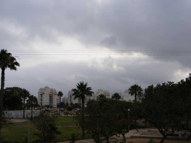В Верхней Галилее прошел дождь: угроза наводнений в Иорданской долине