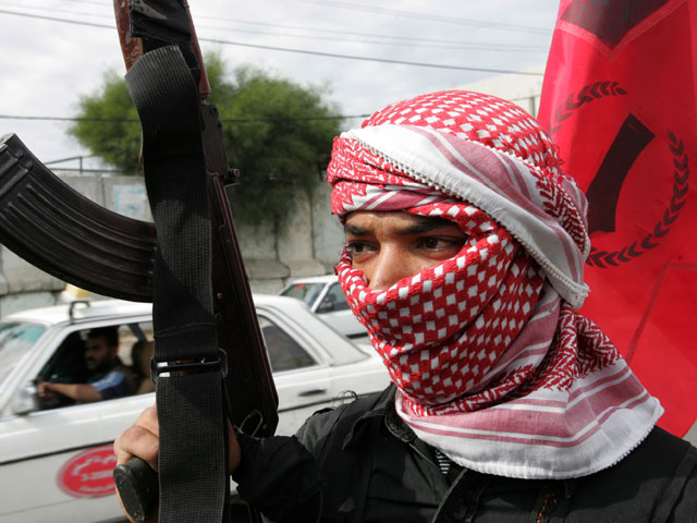 Газа. Боевик ДФОП