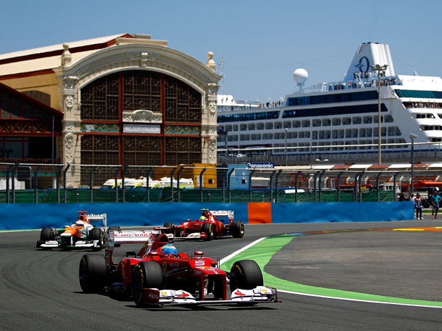 Формула-1: победителем Гран-при Европы стал Фернандо Алонсо