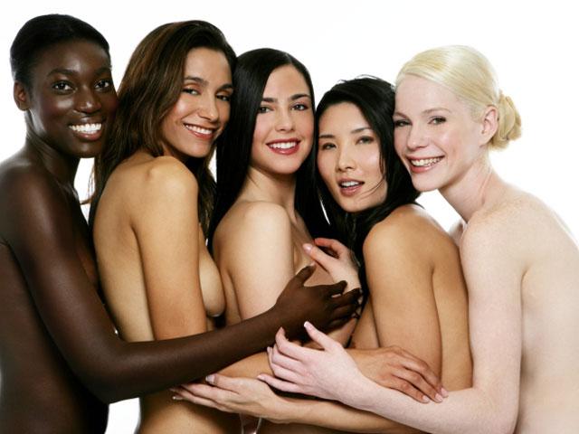 голые разных стран фото