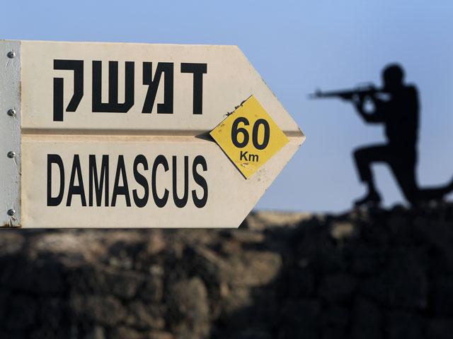 На израильско-сирийской границе