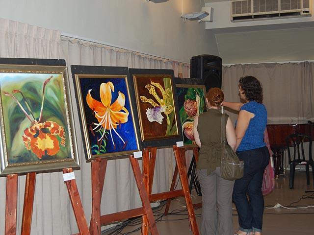 Выставка художниц Яны Майданик-Ступ и Рони Йоффе в Тель-Авиве