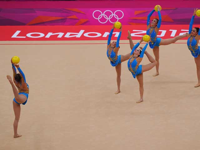 Художественная гимнастика: золото завоевали россиянки. Израильтянки на 8-м месте