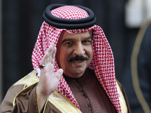 Король Бахрейна Хамад бин Иса аль-Халифа
