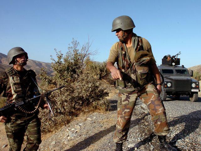 Турецкие солдаты вторглись на территорию Ирака
