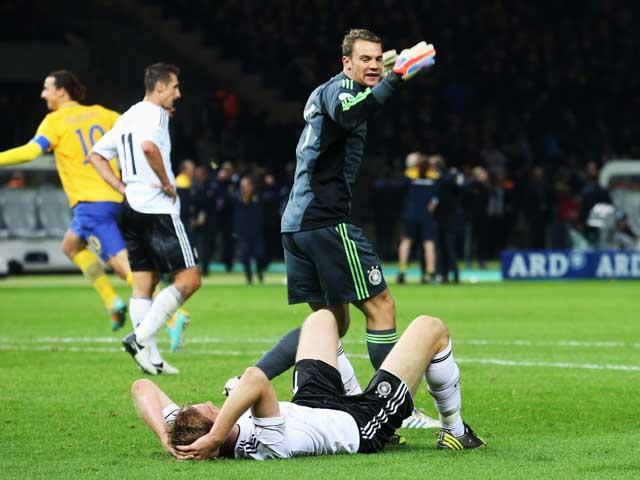 Выигрывая 4:0 на 60-й минуте, немцы упустили победу в матче со шведами: обзор