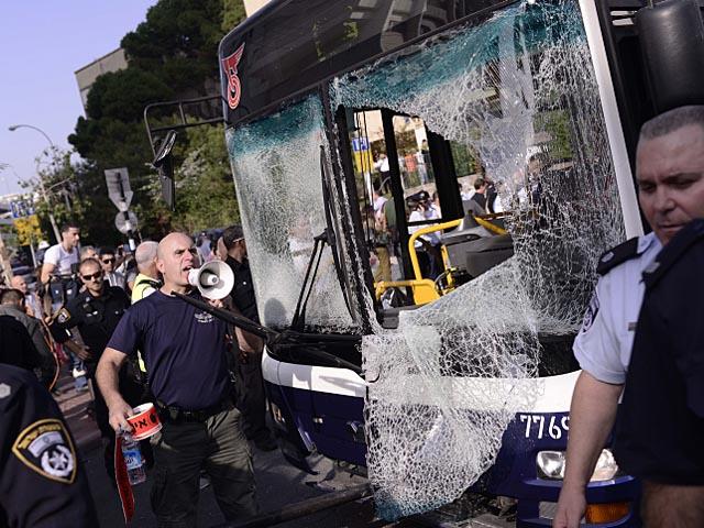Автобус, взорванный в Тель-Авиве 21 ноября 2012 года